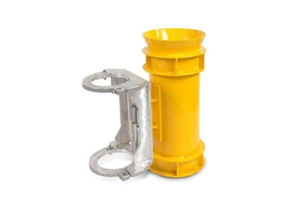 Drill Collar Transponder Bucket