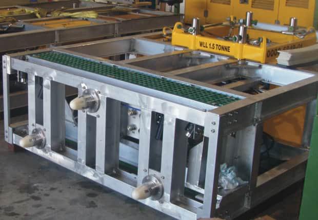 TMT Hydraulic Skid