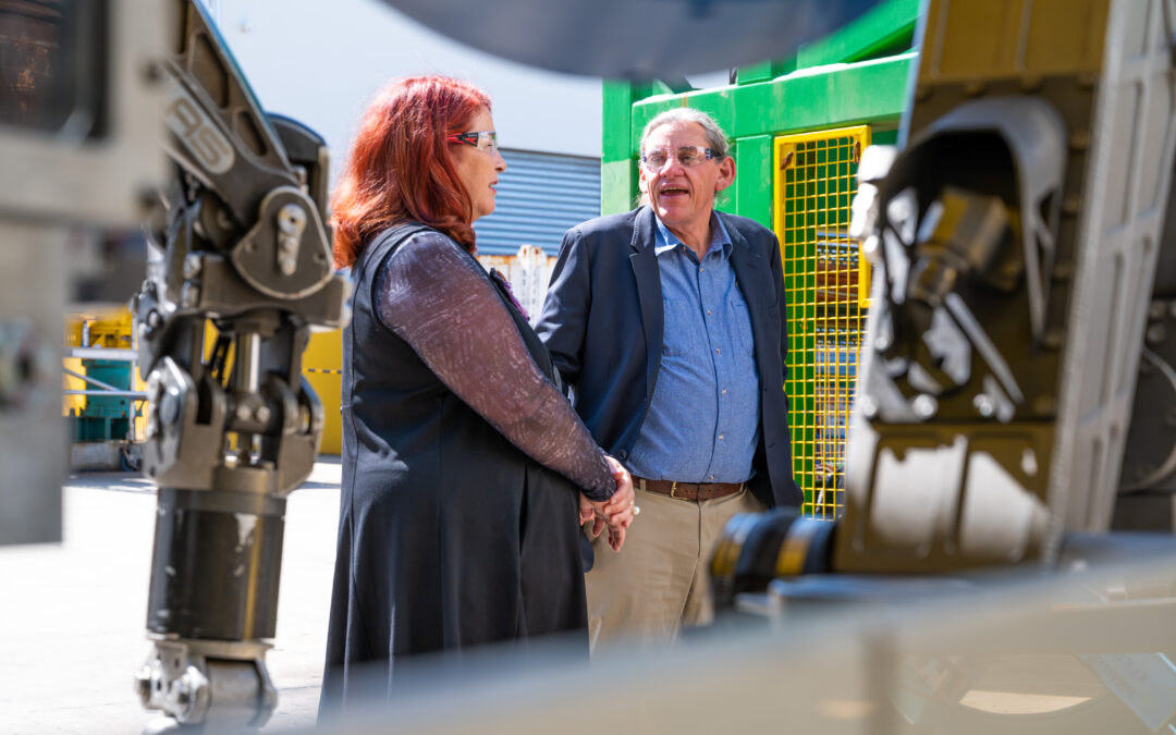 Minister Melissa Price Visits Total Marine Technology